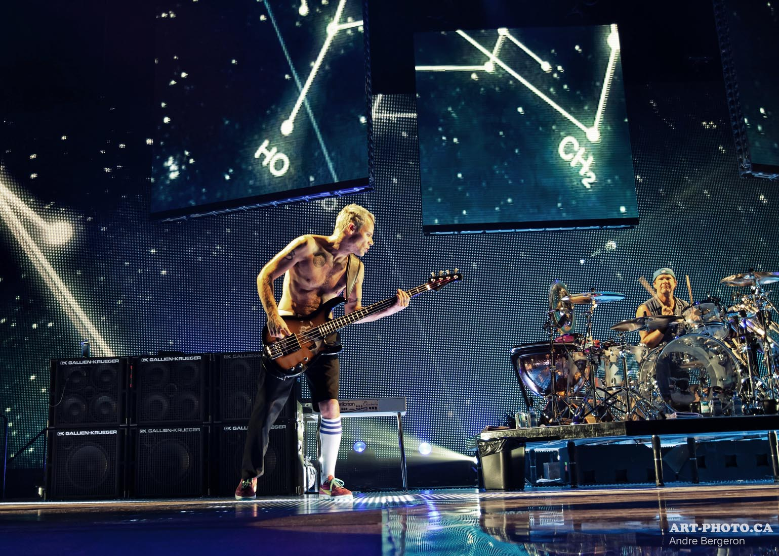Red hot chili peppers tour dates