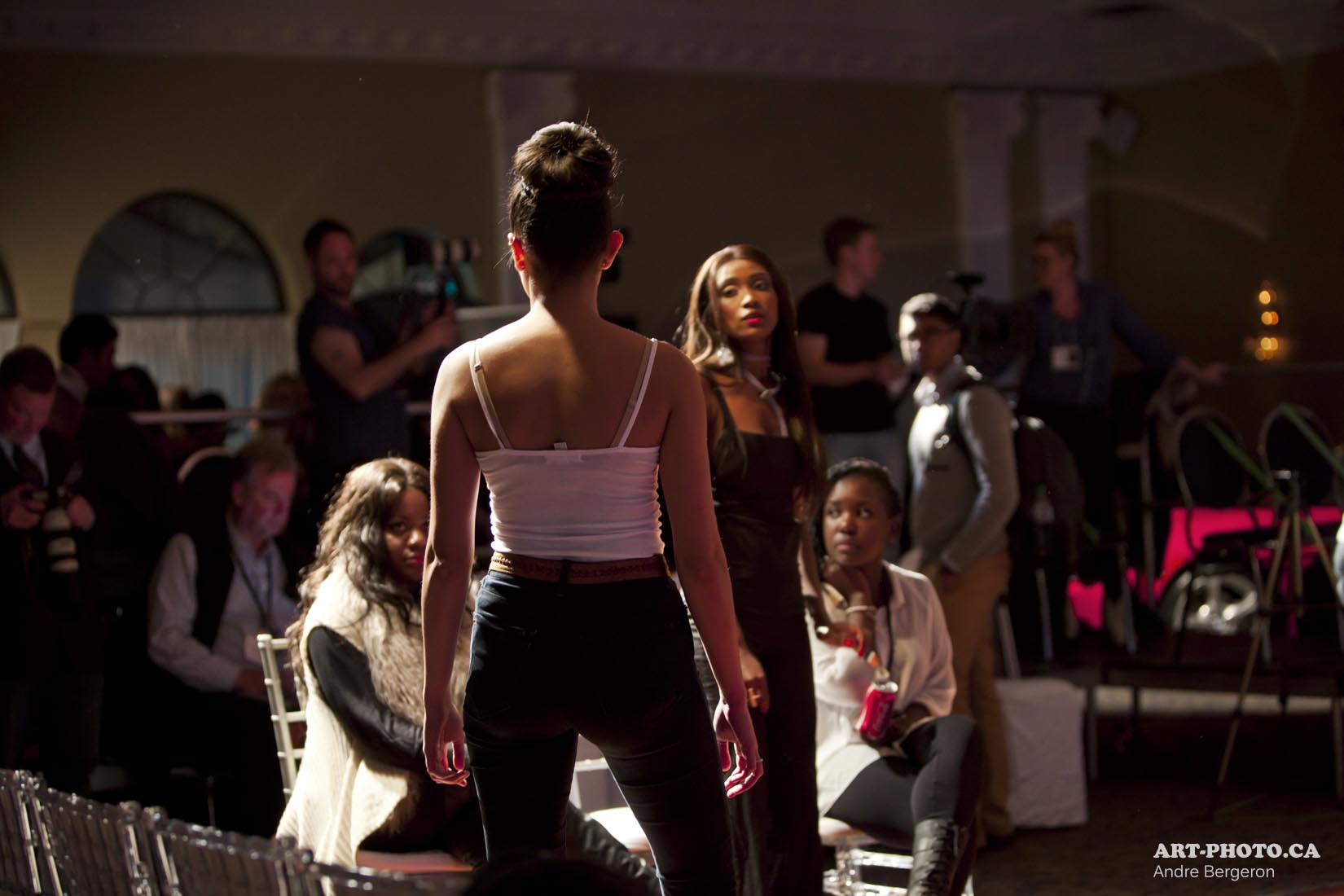 Ottawa Fashion Week S S 2013 Rehearsal
